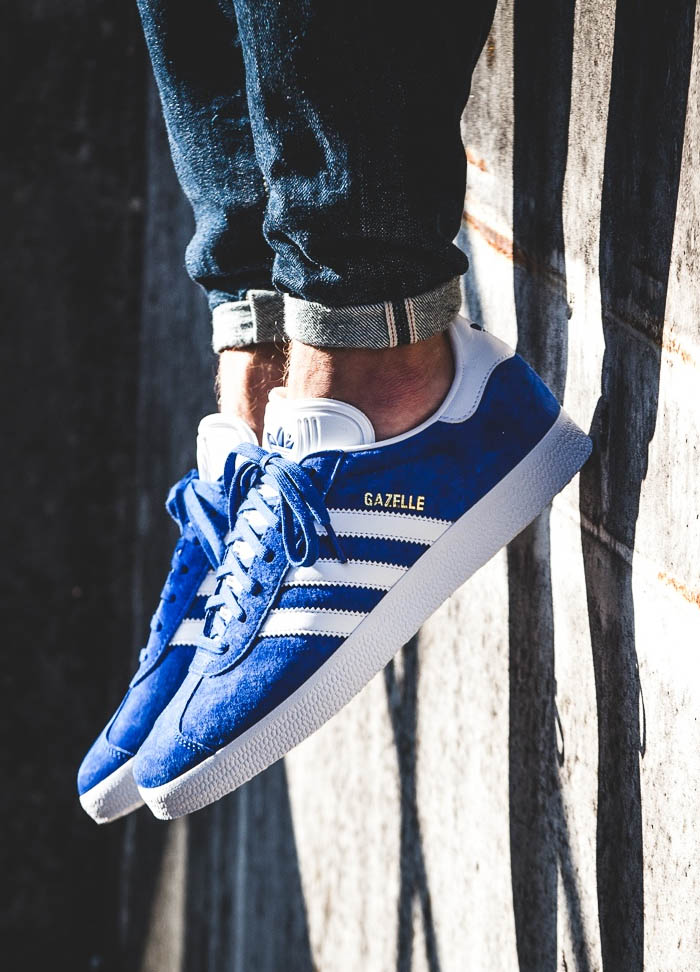 Being less popular than the Superstar gives the Adidas Gazelle one huge advantage...you won't be like everyone else.