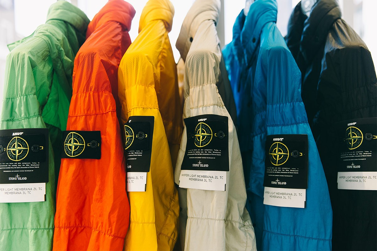 Colorful Windbreakers From Nike 215 Stone Island