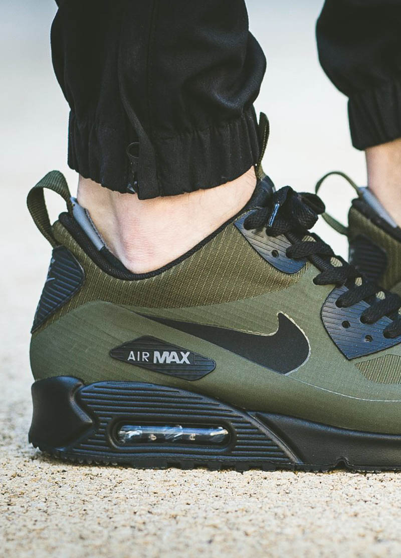 Dark Loden Mid Winter...the warmest NIKE Air Max 90 ever?