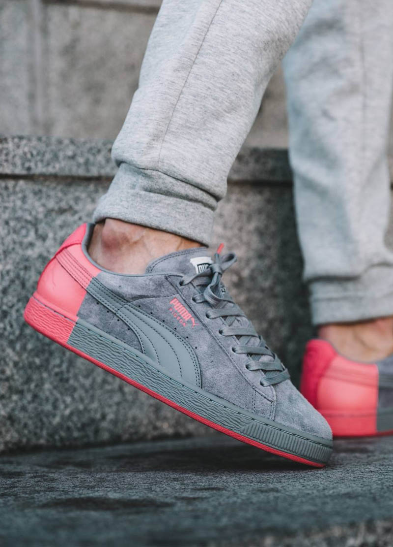 Puma dips its heel in peach...