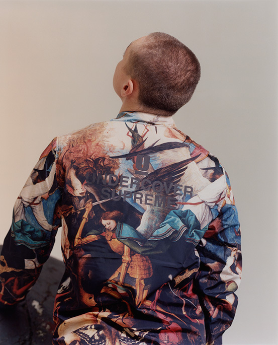 Supreme x Undercover 450 Year-Old Bomber Jacket Design
