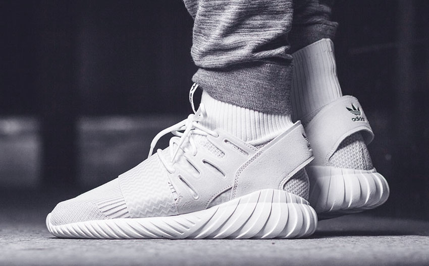 Adidas originals Tubular X Primeknit Sneaker in White for Men Lyst