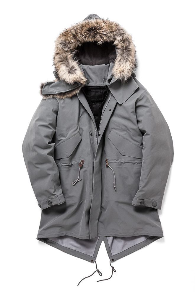 BUNNEY Extreme Weather Fishtail Parka