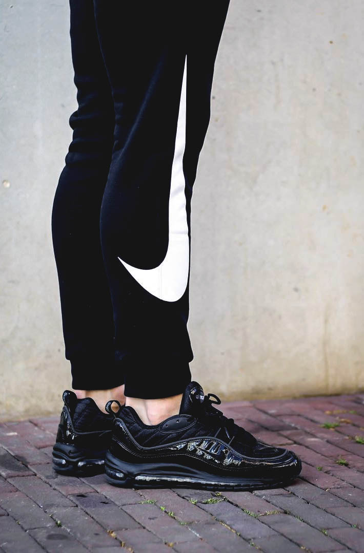 NIKE Air Max 98 Black Patent