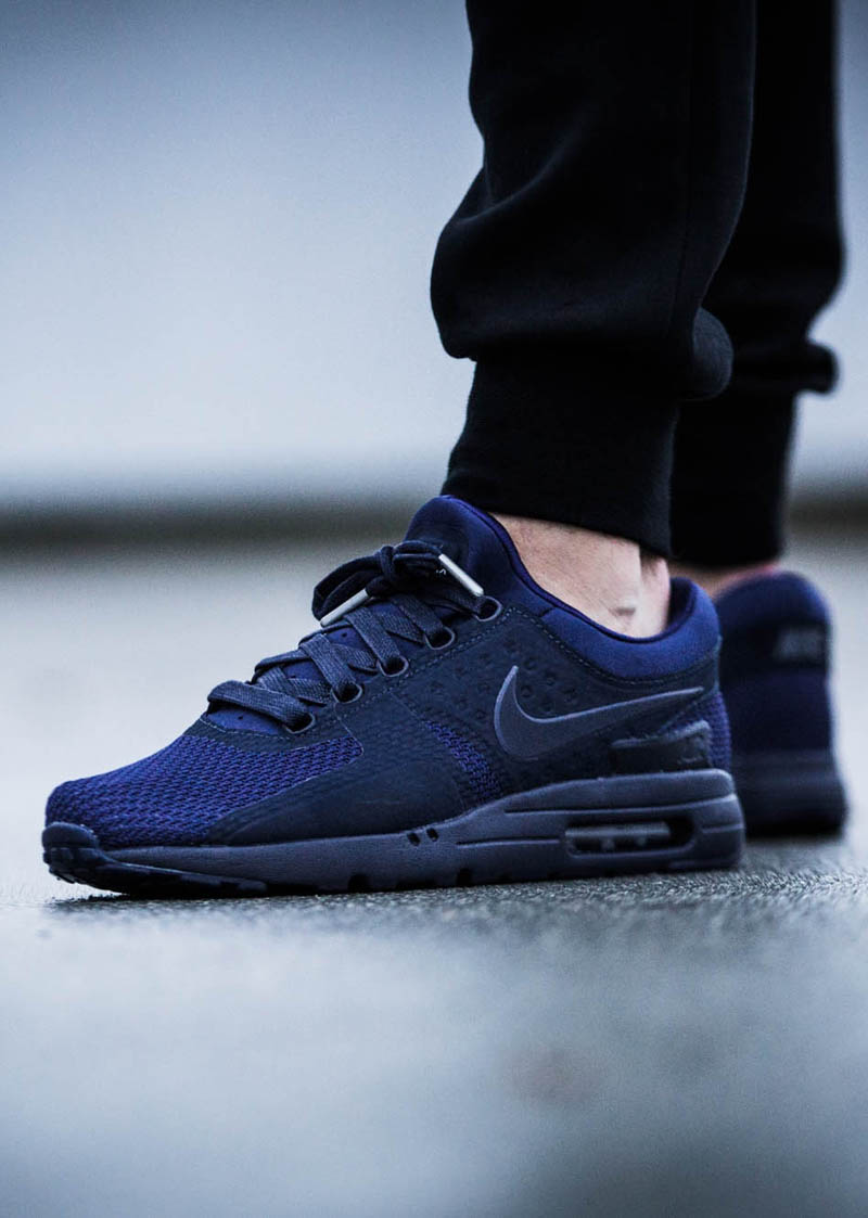nike air max zero qs blue soletopia. Black Bedroom Furniture Sets. Home Design Ideas