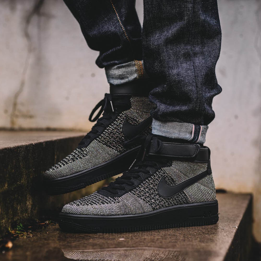 NIKE Air Force One Jetzt Knitted