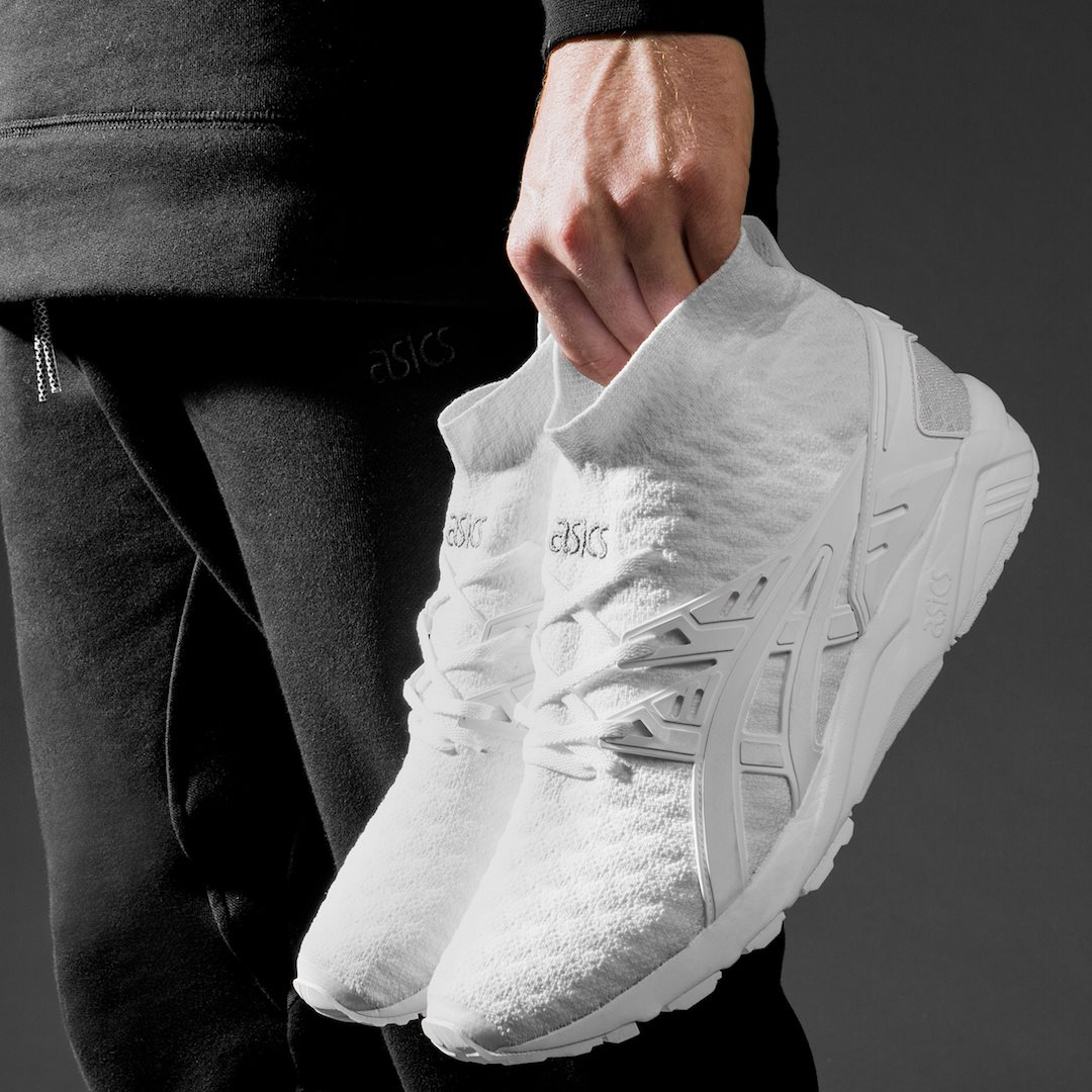 ASICS is stepping up their knit game.